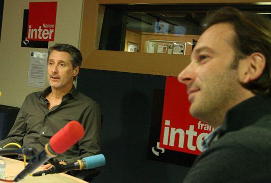 Antoine De Caunes et François Busnel
