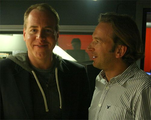 Bret Easton Ellis et François Busnel
