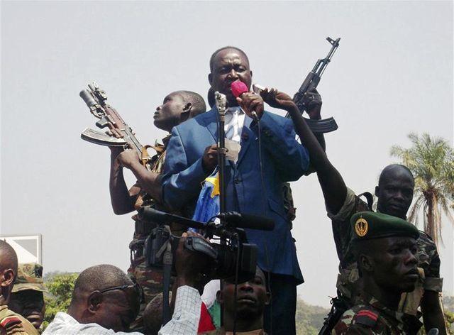 le président centrafricain favorable à des pourparlers