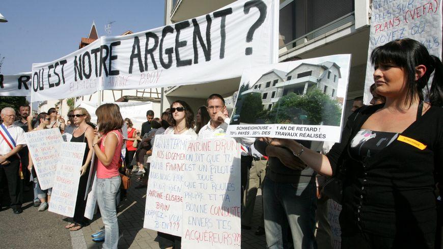 117 familles alsaciennes avaient porté plainte contre Brun Habitat