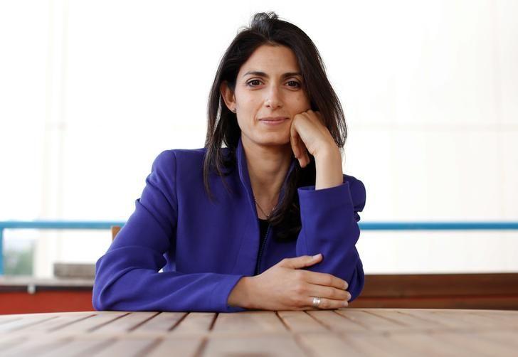 Virginia Raggi, candidate du M5S à la mairie de Rome