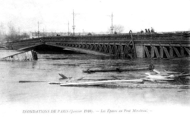 Pont Mirabeau 1910