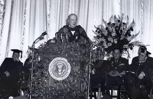 Winston Churchill, discours de Fulton