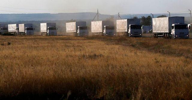 d'après moscou, le convoi humanitaire russe est en route pour louhansk