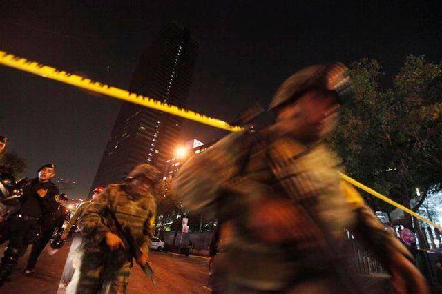 explosion meurtrière à mexico au siège d'une compagnie pétrolière