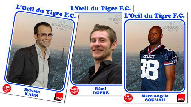 Sylvain Kahn, Rémi Dupré et Marc-Angelo Soumah