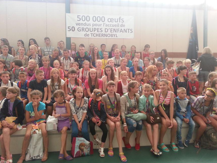 120 jeunes ukrainiens sont arrivés en Alsace et dans le Grand Est pour un séjour de trois semaines