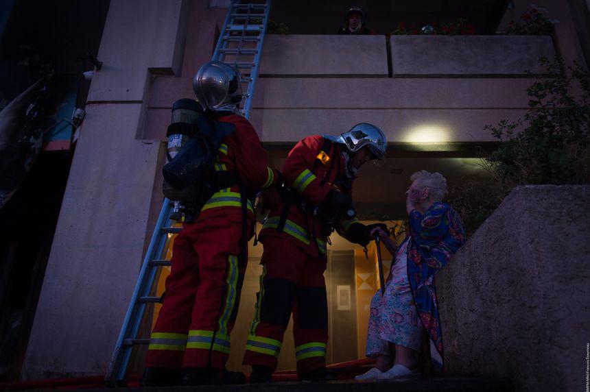 Quinze personnes ont été évacuées et mises à l'abri