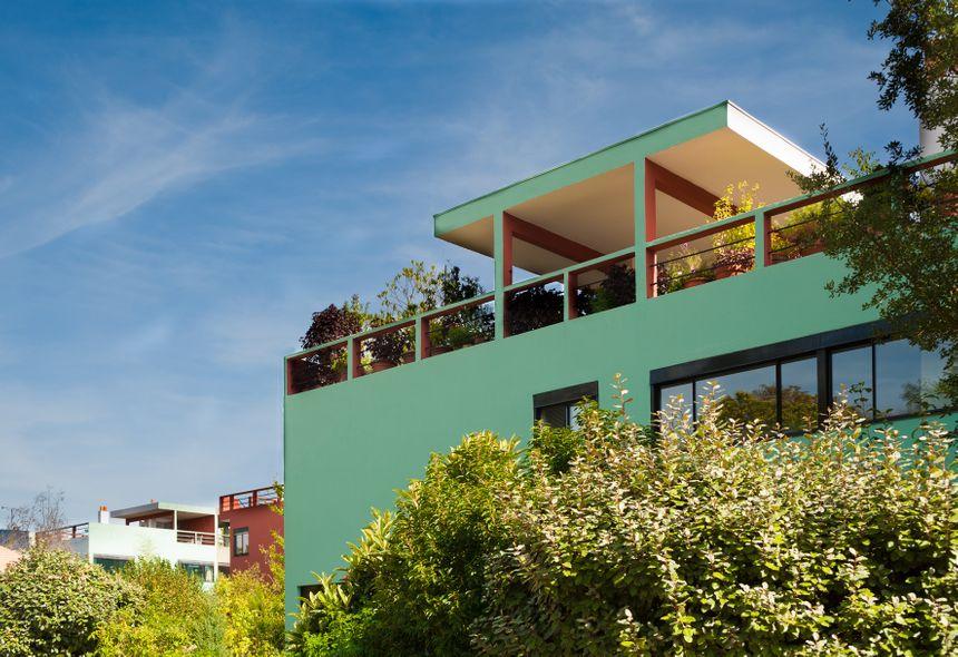 La Cité de Pessac témoigne de l'influence de l'oeuvre de Le Corbusier dans l'évolution de l'architecture.