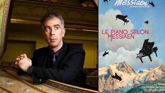 Concert Pierre Hantaï au festival Messiaen ay Pays de la Meije