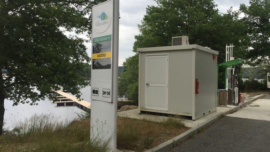 La station du port d'Auphelle au lac de Vassivière est hors-service depuis deux ans