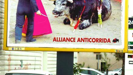 Exemple d'affiche de la campagne dans les Pyrénées-Orientales