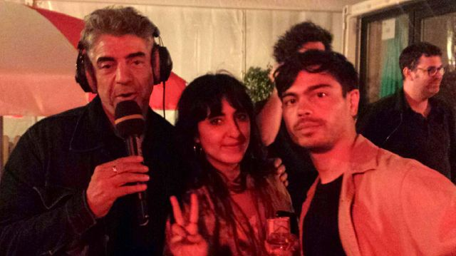 Lilly Wood And The Prick juste après leur concert