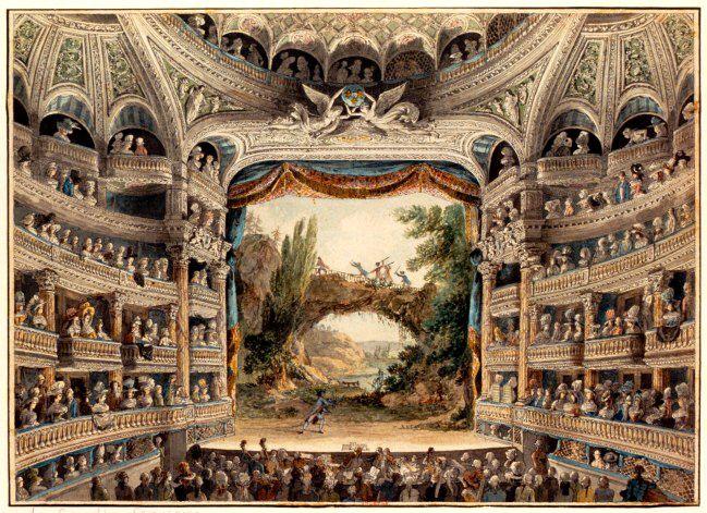 La Comédie-Française au XVIIIe siècle.