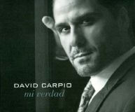 pochette album david carpio mi verdad