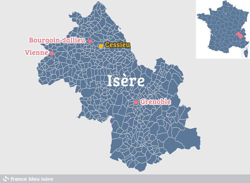Cessieu, en Isère