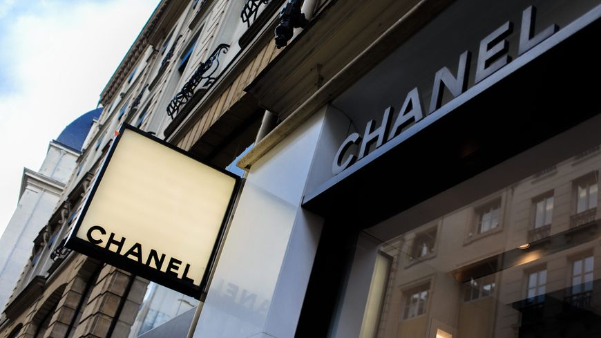 Une boutique Chanel (illustration)