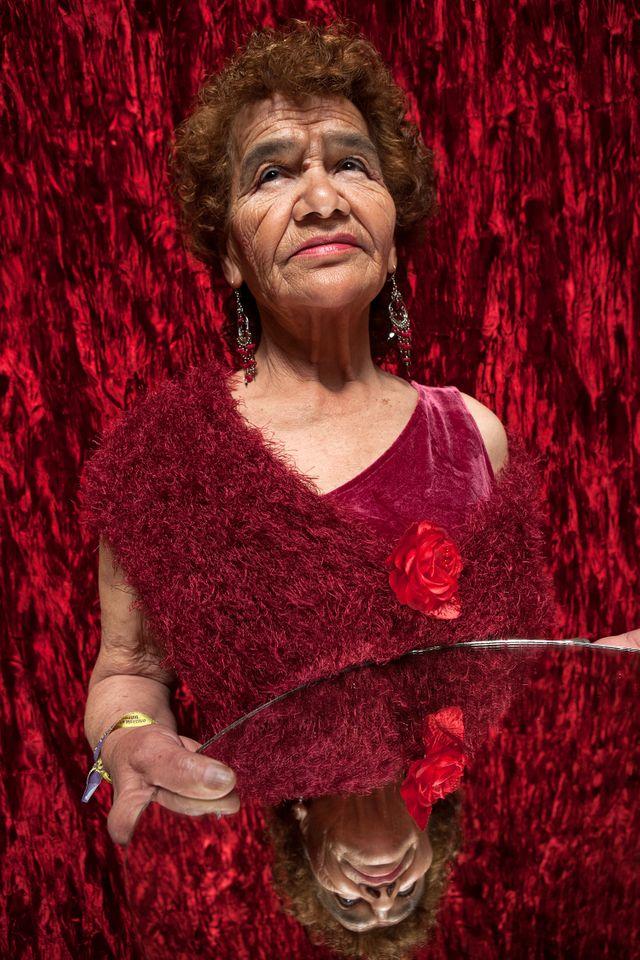 Victoria, 83 ans, l'habitante la plus âgée de la Casa Xochiquetzal