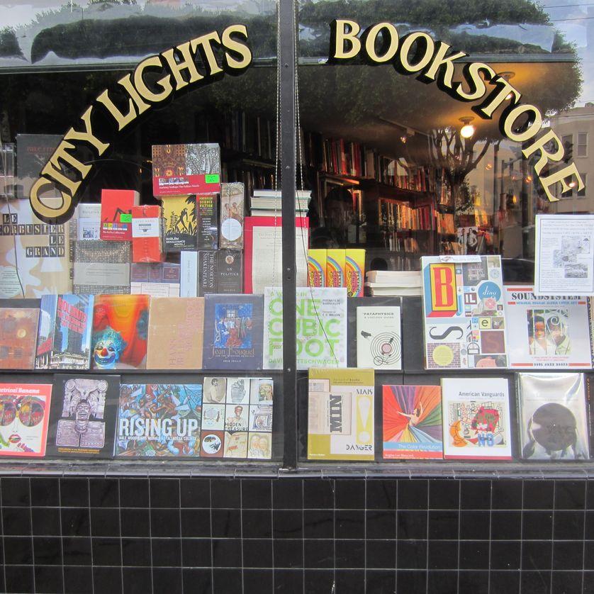 City Lights Bookstore à Chinatown, San Francisco