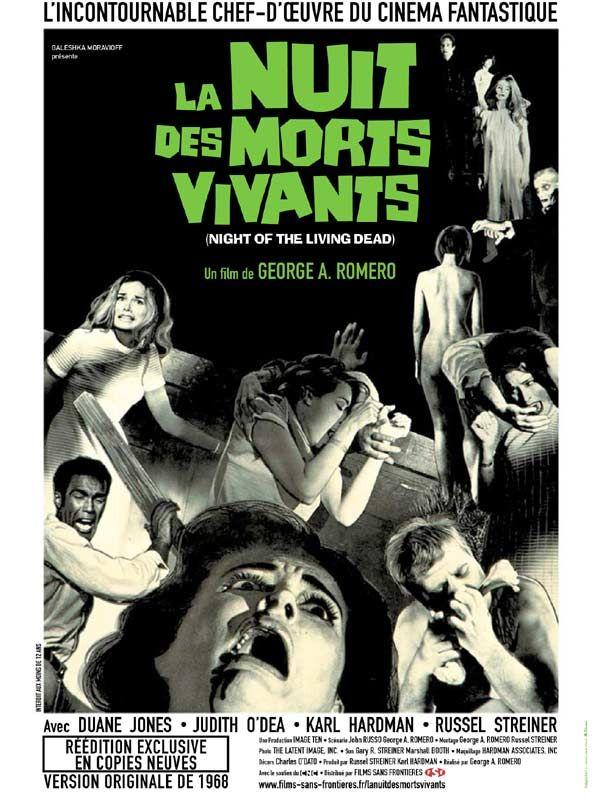 La Nuit des Morts Vivants : l'affiche