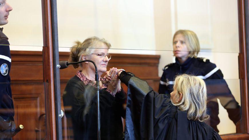 Jacqueline Sauvage lors de son procès en appel à Blois en décembre 2015
