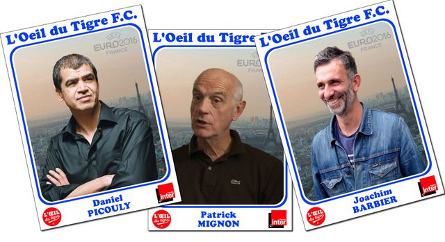 Daniel Picouly, Patrick Mignon et Joachim Barbier