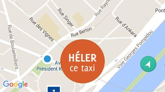 L'application Paris Taxis mise en service ce mercredi