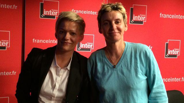 Claire Chartrain et Sandrine Mathivet