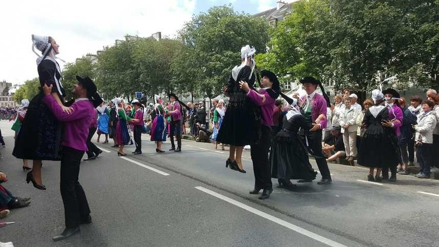 Le festival de Cornouaille cherche toujours du monde pour le défilé du dimanche (photo d'archive)