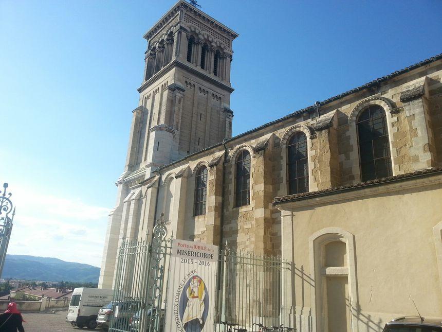 La cathédrale Saint-Apollinaire de Valence, dans la Drôme.