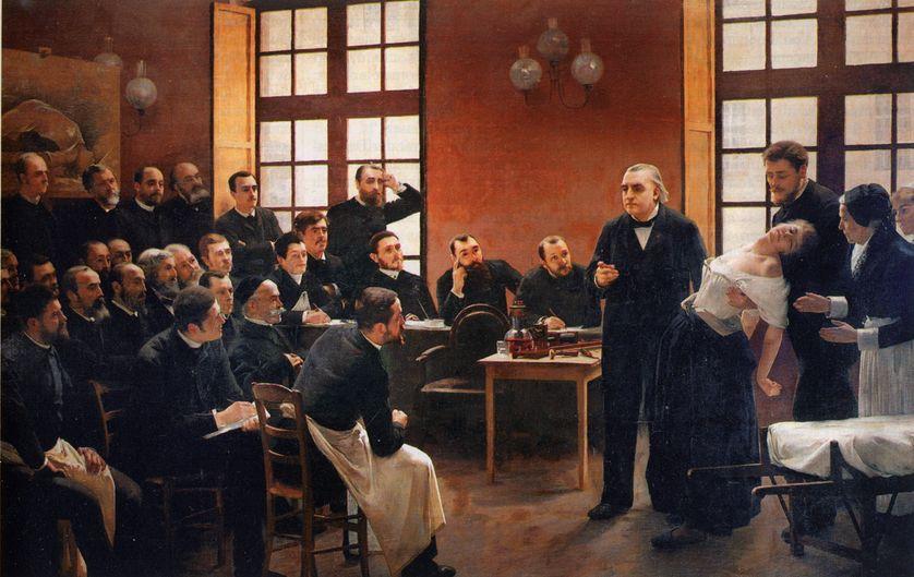Une leçon clinique à la Salpêtrière de Jean-Martin Charcot