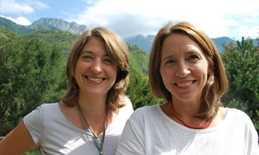 Bettina et Felicity, fondatrices de myEnglishFamily.