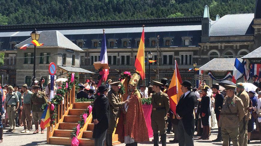 La (ré)-inauguration de la gare de Canfranc
