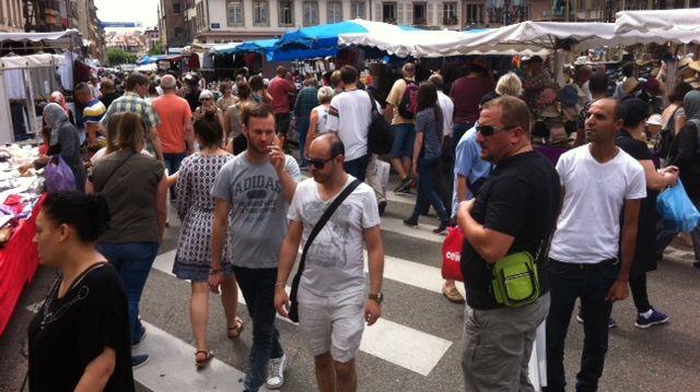 Baisse de 15 à 20% de fréquentation à la braderie de Strasbourg