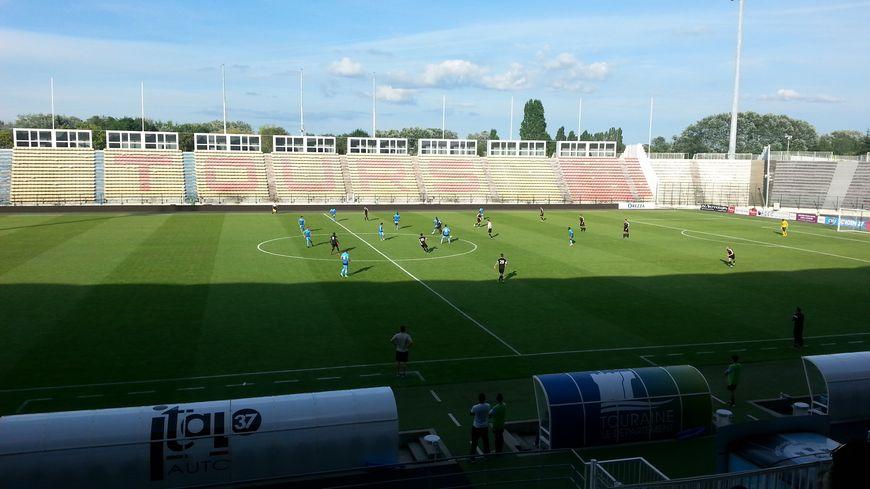 Le Tours Football Club, lors de sa victoire 2-0 contre Niort en match amical, le 22 juillet 2016