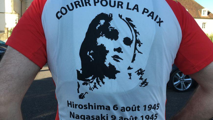 De nombreux participants revêtaient le t-shirt officiel de la course.