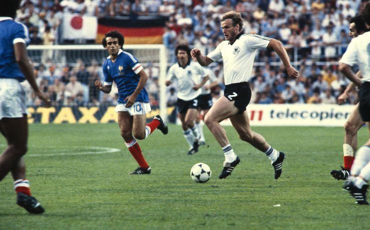 la demi-finale à Séville, le 7 juillet 1982