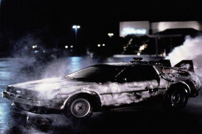 """La voiture de """"Retour vers le futur"""""""