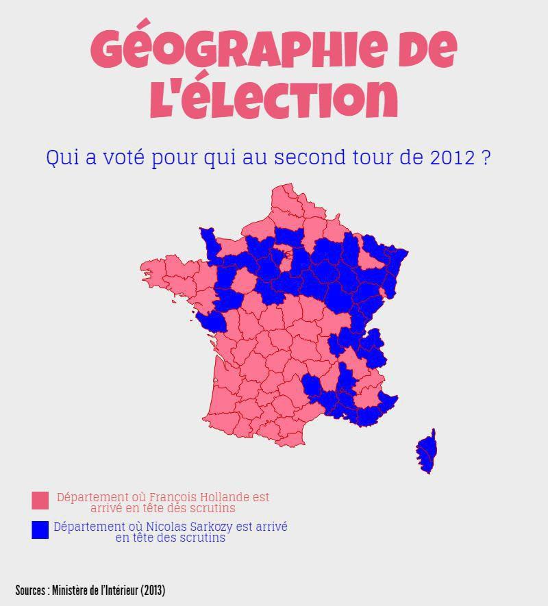carte de france electorale 2017
