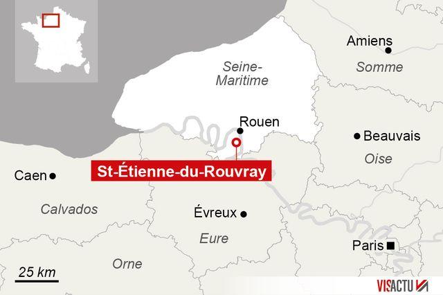 Prise d'otage dans une église de Saint-Étienne-du-Rouvray (Seine-Maritime)