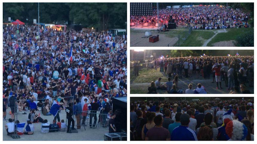 Ile Aucard : 8.000 personnes devant l'écran géant de 28m²