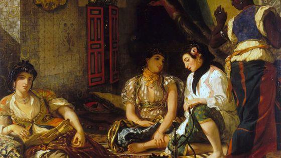 """""""Femmes d'Alger dans leur appartement"""" de Delacroix"""