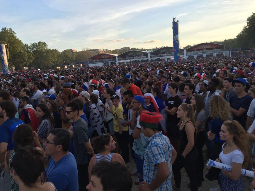 55000 personnes à la fan zone des Quinconces pour le dernier match.