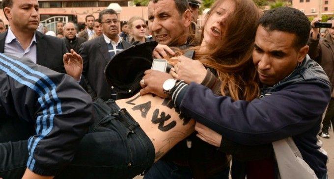 Gala dans l'action au Maroc