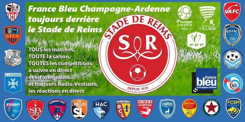 Tous les matches du Stade de Reims à suivre sur France Bleu Champagne-Ardenne