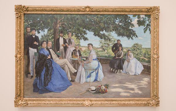 Frédéric Bazille, Réunion de famille (1867) © Photo : Guillaume Decalf / France Musique