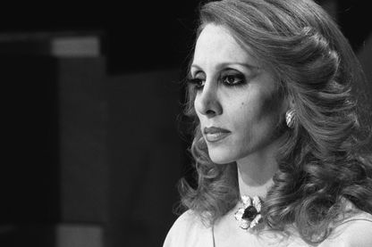 Fairouz à Paris le 19 mai 1975