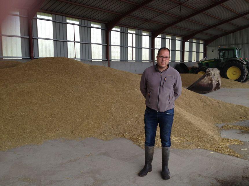 L'orge récolté, tardivement, par Antoine Grosjean servira à fabriquer de la bière