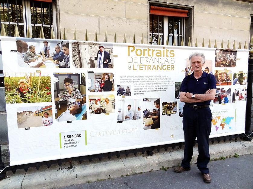Frédéric de La Mure, photographe officiel du Quai d'Orsay, le 26 juillet 2012