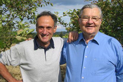 Denis Cheissoux et Jean-Marie Pelt en 2007